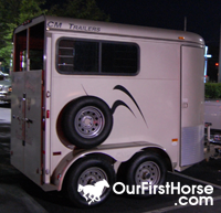 Our New Horse Trailer